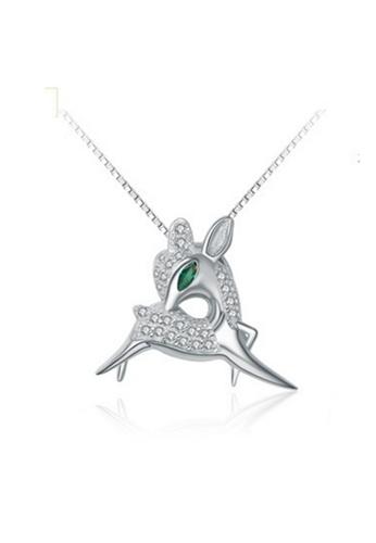 LYCKA silver LPP88187 S925 Silver Necklace 1EFDCAC5692911GS_1