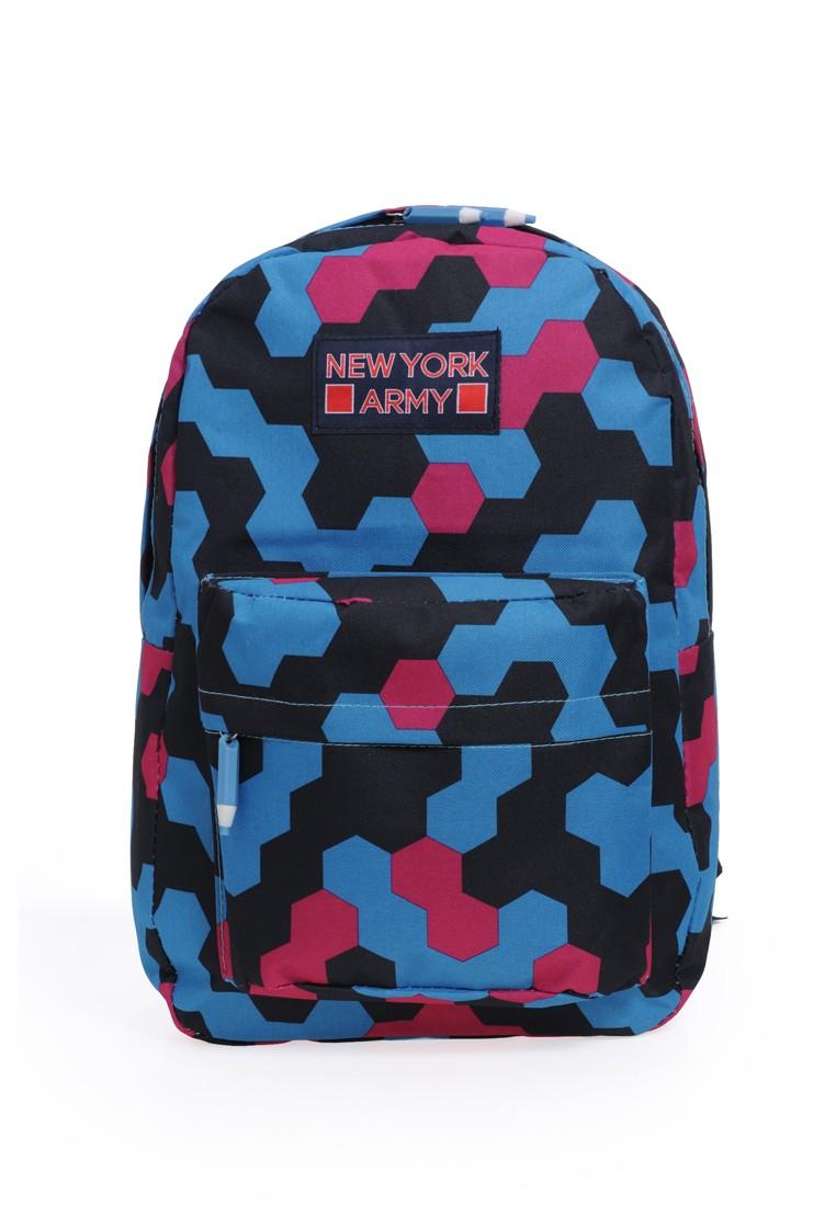 Newyork Army N7340 RGB Hexagon Backpack