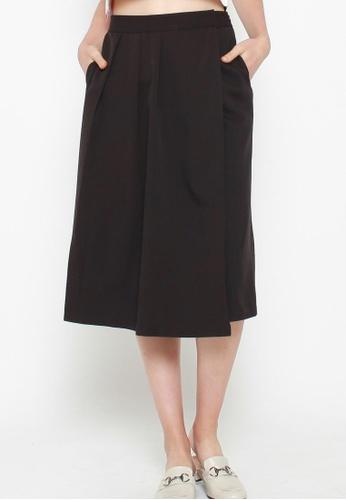 QLOTHE black Juliette Wrap Skirt FD8A9AAF6373ABGS_1
