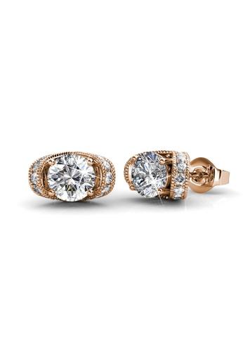 Her Jewellery gold Her Jewellery Eve Earrings (Rose Gold) with 18K Gold Plated DED43ACF5A3B81GS_1