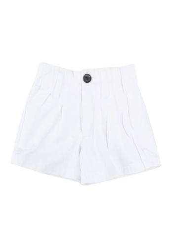 FOX Kids & Baby white White Woven Shorts D24F8KA74D8EAEGS_1