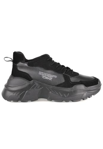 Tomaz black Tomaz TBB03 Casual Sneakers (Black) A0381SHFB4785BGS_1