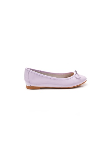 Elisa Litz purple Gwyneth Flats (Purple) 17FF8SH923DAF5GS_1