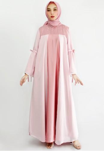 INA PRIYONO pink GAMIS KHALIA Pink by Ina Priyono 3DF8FAA6EE9DB5GS_1