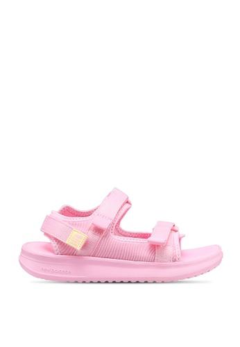 New Balance pink Sandals 39A00KS4E0D006GS_1