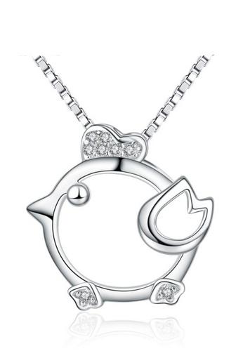 LYCKA silver LPP88063 S925 Silver Necklace 69DC7AC2E64891GS_1