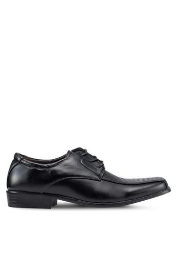 Rocklander black Formal Lace Up Shoes E0267SHBB84C18GS_1