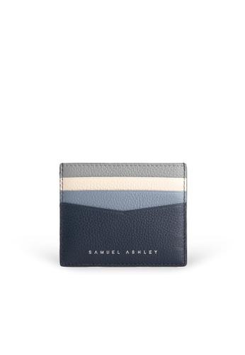 Samuel Ashley blue Finley Card Holder - Deep AAFF3ACA9C4EF7GS_1