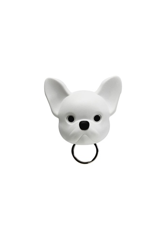 Qualy Qualy Frenchie French Bulldog Key Holder (White) 4E367HLA9DC4A3GS_1