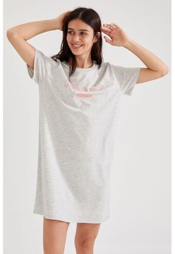 DeFacto grey Homewear Dress 5046AAACFC5029GS_1