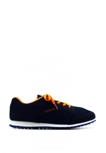 New York Sneakers navy Deion Rubber Shoes 8B3F6SH28022BFGS_1