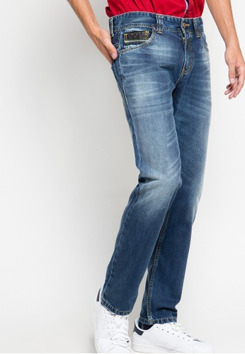 Lois Jeans blue Long Pants Denim LO391AA92ZWLID_1