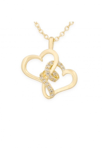 Mikana gold Your Name Inspired 18k Gold Plated Taki Pendant Necklace 664ACAC3B5ABEFGS_1