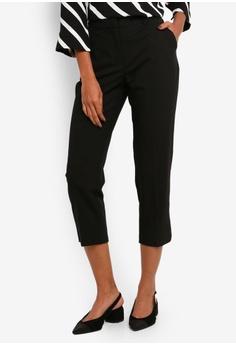 870714796fcf Dorothy Perkins black Petite Black Naples Ankle Grazer Trousers  3E0A6AA795792DGS 1