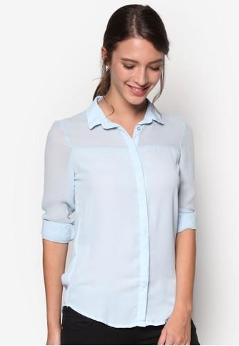 長esprit衣服目錄袖襯衫, 服飾, 上衣