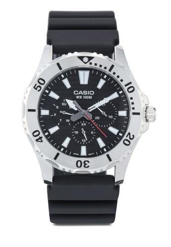 Casio black Casio MTD-1086-1AVDF Watch EFD4CAC6AA0214GS_1