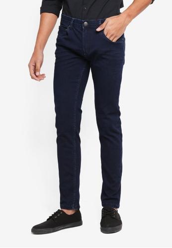 OVS 藍色 緊身丹寧牛仔褲 1F04BAADF8261AGS_1