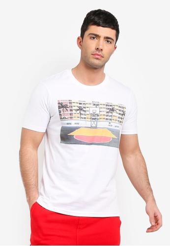 Cotton On 白色 短袖印花T恤 EC092AAAEB02AAGS_1