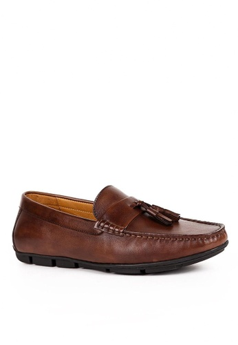 Twenty Eight Shoes Cristoforo Vintage Leather Loafers BL09-1 986CBSH17144F1GS_1