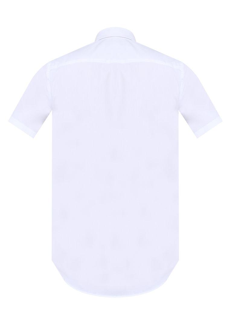 Short Shirt White Topman Stretch Fit Skinny Smart Sleeve White PStS7w