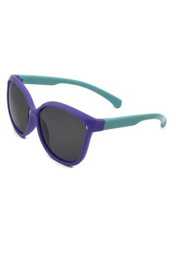 jojo purple Oversized Cateye Polarized Sunglasses 41F32KCF43DC81GS_1