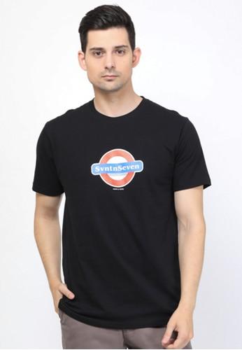 17seven Original black Tshirt 0047-UNDERGROUND 78DB6AA0A04958GS_1