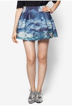 Landscape Skater Skirt