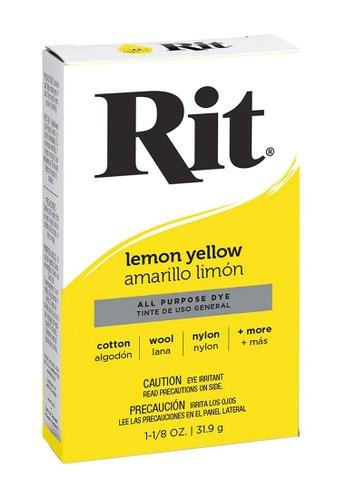 Rit Dye yellow Rit Lemon Yellow All Purpose Dye CCD3AHL853F714GS_1