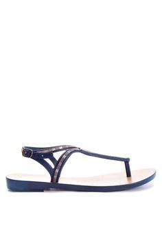 a7cf4613a99b9 Grendha blue Luxo Sandal Fem Thong Sandals 454A1SH975E2B7GS 1