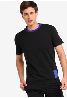 6f6af2f2a Calvin Klein black CK Logo Tee - Calvin Klein Performance F2581AA33287B4GS_1
