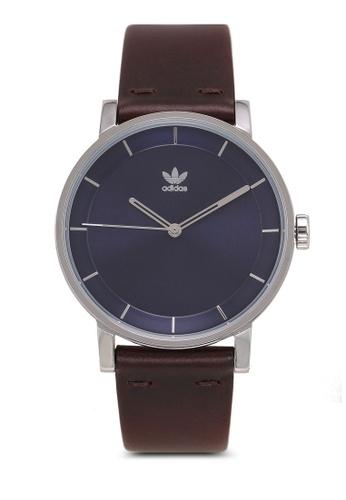 adidas brown adidas originals District L1 Watch E2D0AAC0D4F570GS_1