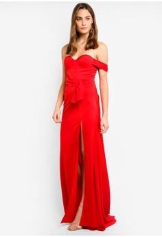 8b24bde4260 Elle Zeitoune Satin Fluid Gown With One Shoulder Detail RM 989.00. Sizes 6  8 10 12 14