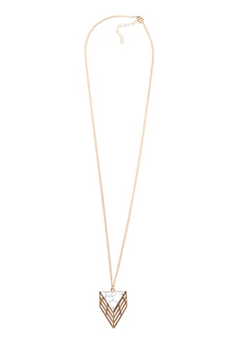 Kimberley gold Leaf Lariat Necklace KI026AC64IFBPH_1