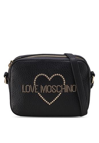 79ea6a633 Buy Love Moschino Studded Crossbody Bag | ZALORA HK