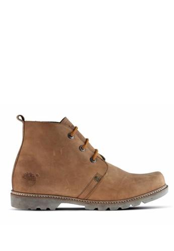 Sogno brown Sepatu Boot Pria GF.7838 1A533SH4A8C152GS_1