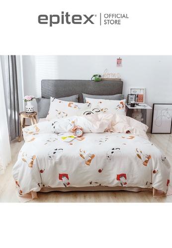 Epitex multi Epitex CK2032-3 900TC 100% Cotton Single Bedset - Fitted Sheet Set 6D587HL1278E8BGS_1
