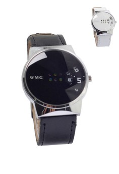 New Couple Watch Design with Calendar