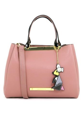 Carlo Rino pink Carlo Rino 0304052-001-24 Top-handle bag (Pink) D7634ACE80424EGS_1