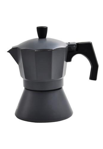 Slique grey Premium Induction Espresso Coffee Maker 150ml 1C3A3HL958C878GS_1