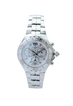 Sea Pearl Stainless Steel Chronograph Watch (38mm) - 713012