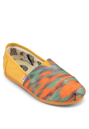 Tijuanesprit 台中a 印花拼接懶人鞋, 女鞋, 鞋