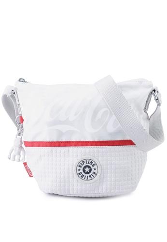 Kipling white Sonja Crossbody Bag A9D11AC2CBB9ECGS_1