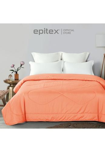 Epitex Epitex Silkysoft 900TC SS8027-6 Blanket - Quilt - Comforter - Duvet - Beddings (Salmon) B6125HL6C6E32FGS_1