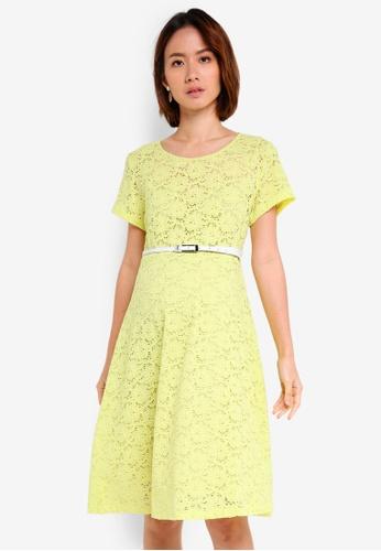 603d6955646 Pietro Brunelli Milano yellow Rodano Lace Maternity Dress 2DFFCAAAD51DACGS 1