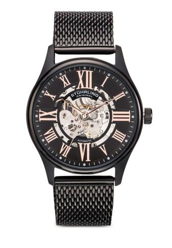 Atrium Elite 鏤空網眼錶zalora是哪裡的牌子帶圓錶, 錶類, 飾品配件