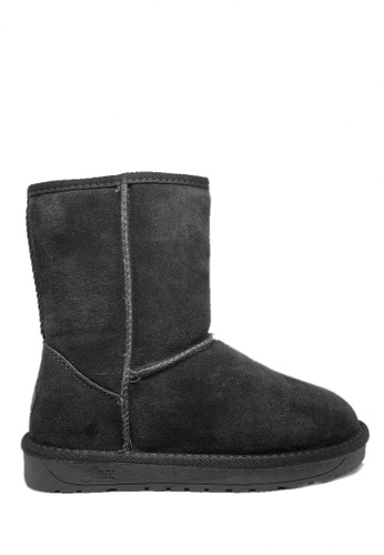 Twenty Eight Shoes black Cow Suede Classic Boots UUD02 53ADDSH8D93F44GS_1
