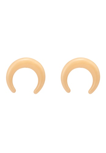 niko and ... beige Acrylic Earrings 21312ACEAAB5FCGS_1