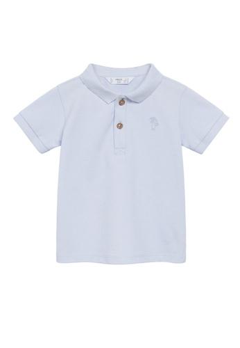 MANGO BABY blue Organic Cotton Polo Shirt 850E5KA79DE2C5GS_1