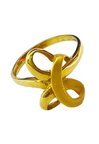 LITZ gold LITZ 916 (22K) Gold Ring CGR0032 (2.85g) 6174AAC07A7E1CGS_1