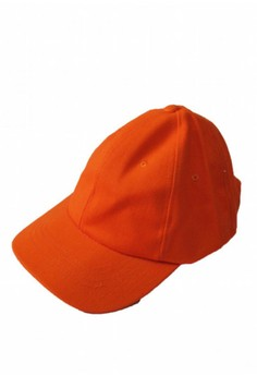 Plain Orange Baseball Cap